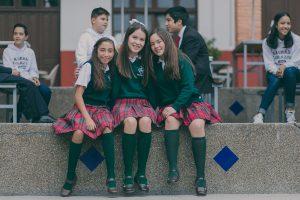 Alumnas de secundaria del sagrado corazón